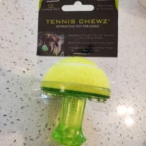 New Hyper Pet Tennis Chewz Interactive Dog Toys